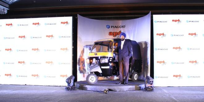 Piaggio launches ape' City Compact Diesel 3 Wheeler in Kerala